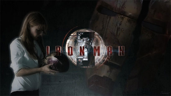 Iron Man 3: Pepper Potts Suit wallpaper