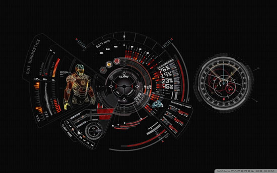 iron man 3 suit diagnostic wallpaper