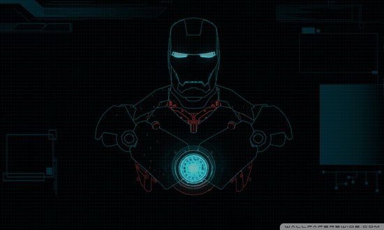 Iron Man Desktop HD wallpaper