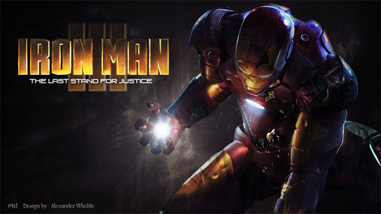 Iron Man 3: The Last Stand for Justice Wallpaper