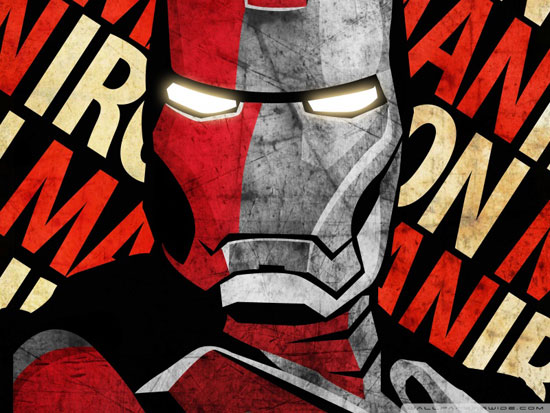 iron man 3 comic wallpaper
